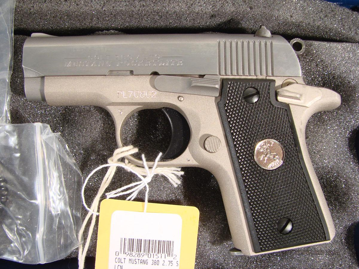 "Colt ""Mustang Pocketlite"" New in the box  Guns > Pistols > Colt Automatic Pistols (.25, .32, & .380 cal)"