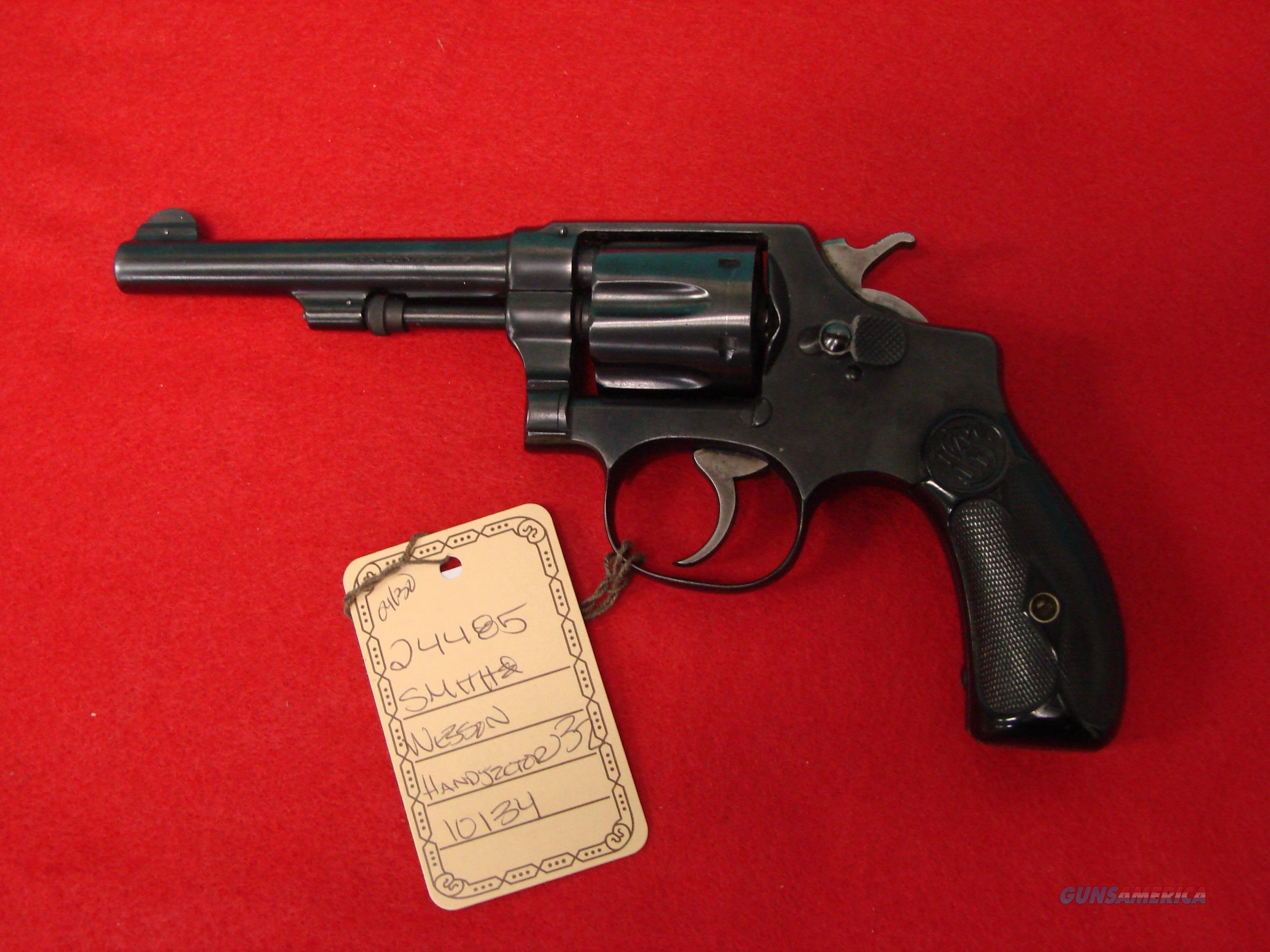S&W Handejector 32  Guns > Pistols > Smith & Wesson Revolvers > Full Frame Revolver