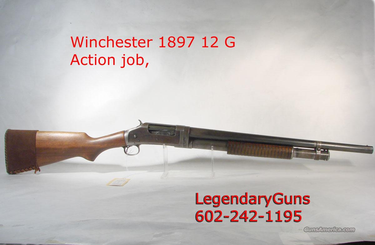 Winchester Model 1897 12 g 20 inch With action job  Guns > Shotguns > Winchester Shotguns - Modern > Pump Action > Defense/Tactical