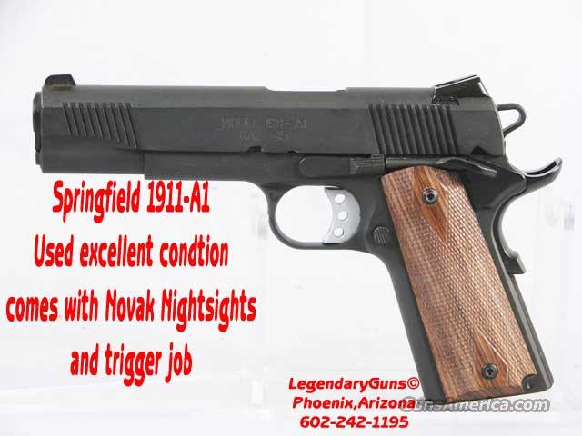 Springfield 1911 Used with Box  Guns > Pistols > Springfield Armory Pistols > 1911 Type
