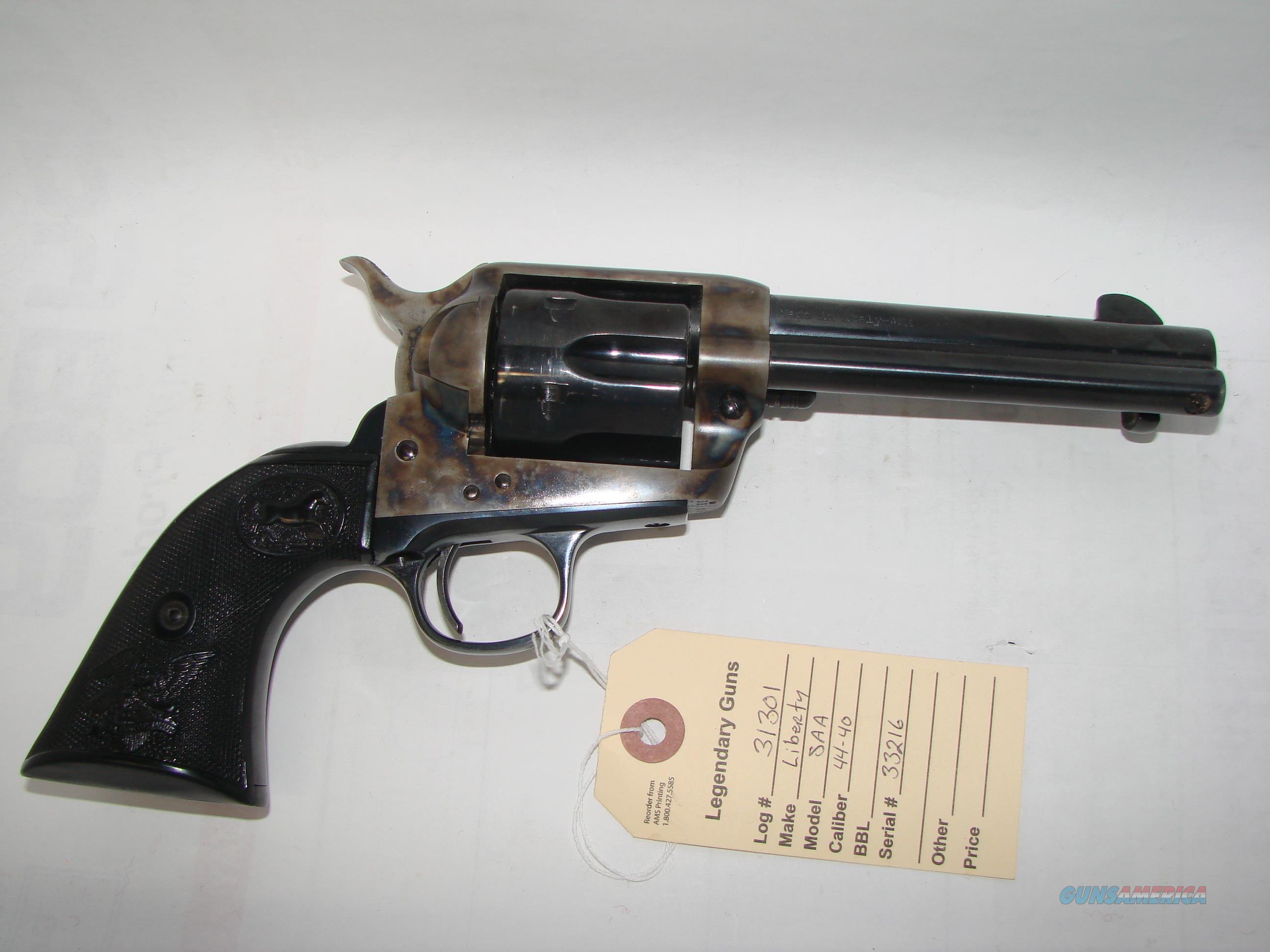 AMS Liberty II 44-40  Guns > Pistols > A Misc Pistols