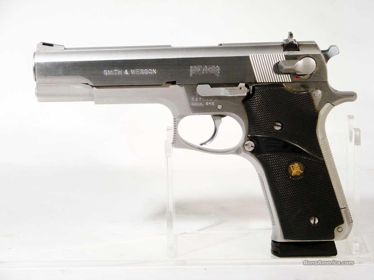 S&W Model 645 .45ACP, SS Full Size  Guns > Pistols > Smith & Wesson Pistols - Autos > Steel Frame