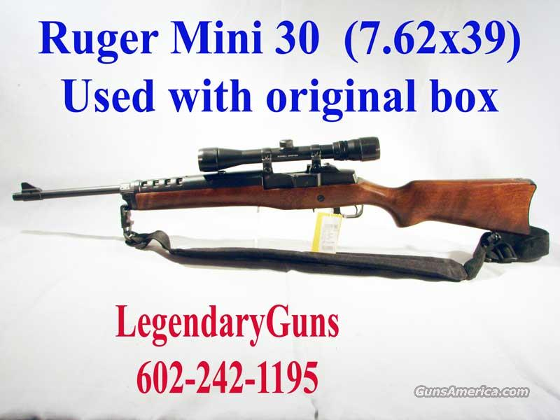 Ruger Mini 30 with Burris scope  Guns > Rifles > Ruger Rifles > Mini-14 Type