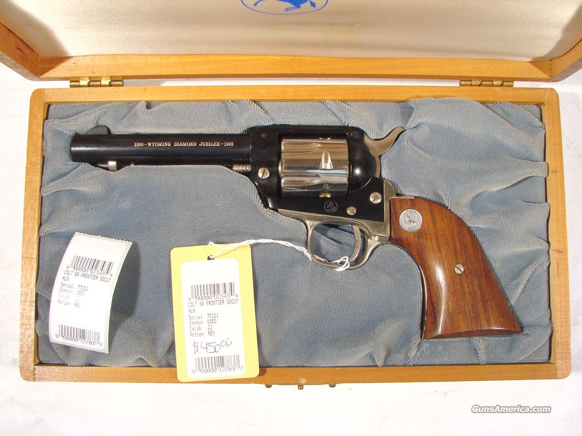 Colt Wyoming Diamond Jubliee  Unfired .22LR  Guns > Pistols > Colt Single Action Revolvers - Modern (22 Cal.)