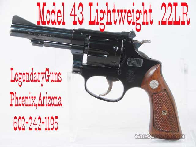 S&W M43 .22LR 4inch Light weight  Guns > Pistols > Smith & Wesson Revolvers > Pocket Pistols