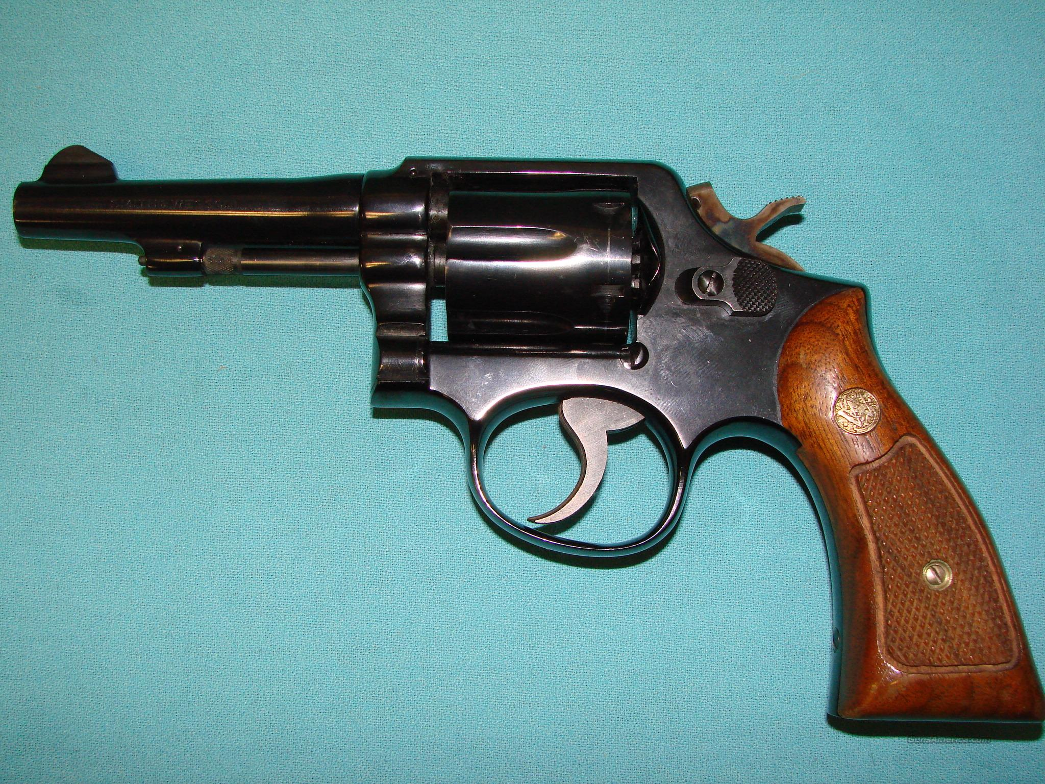 Smith and Wessson Model 10-6  Guns > Pistols > Smith & Wesson Revolvers > Model 10