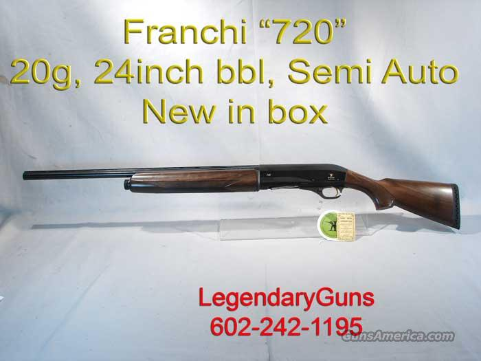"Franchi Model ""720"" Semi Auto 20 G  Guns > Shotguns > Franchi Shotguns > Auto/Pump > Hunting"