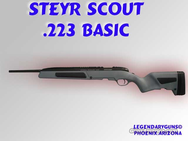 "Steyr ""Scout"" .308 Used as new condition,  Guns > Rifles > Steyr Rifles"