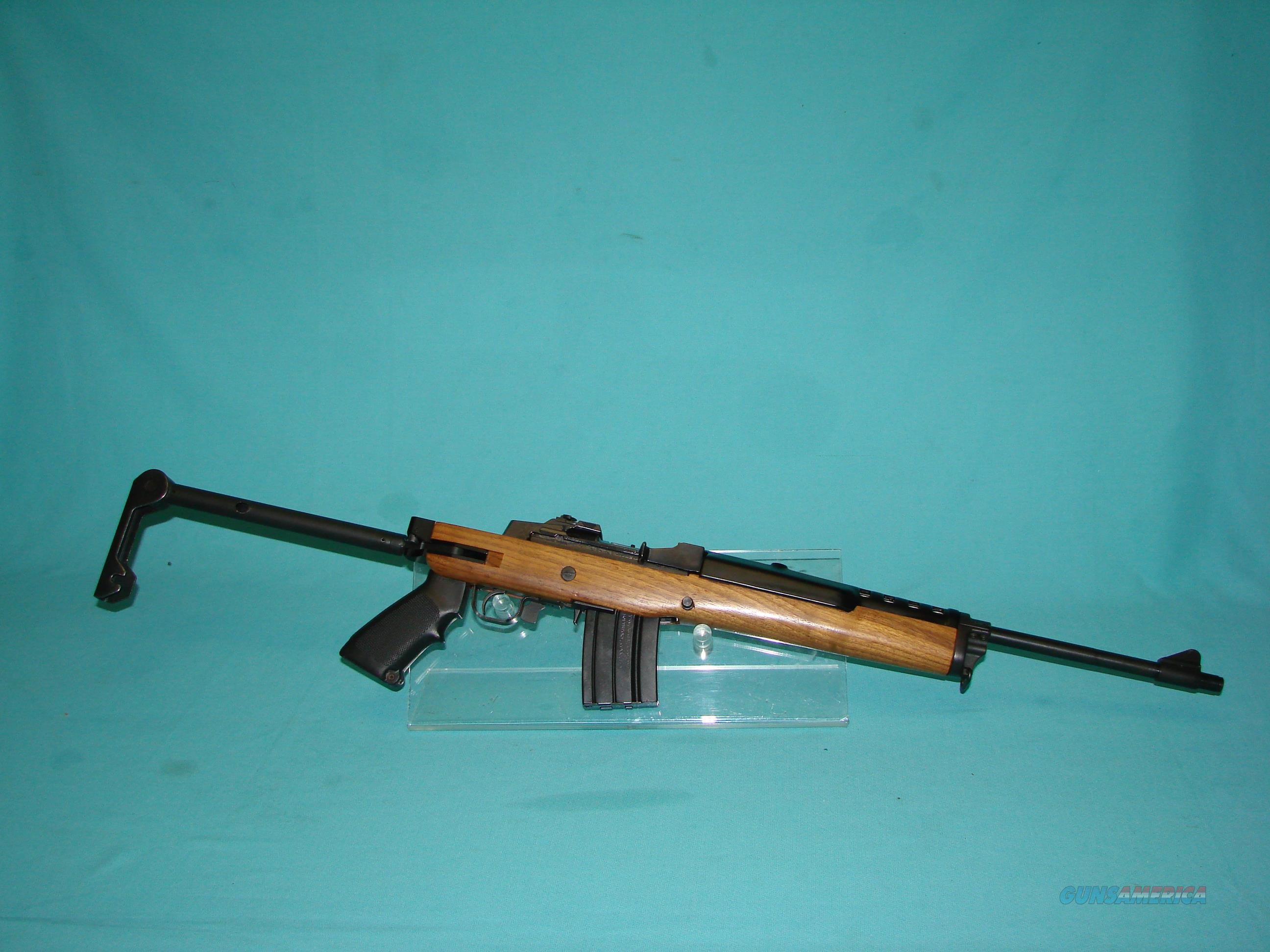 Ruger Mini 14 w/Factory Folding Stock  Guns > Rifles > Ruger Rifles > Mini-14 Type
