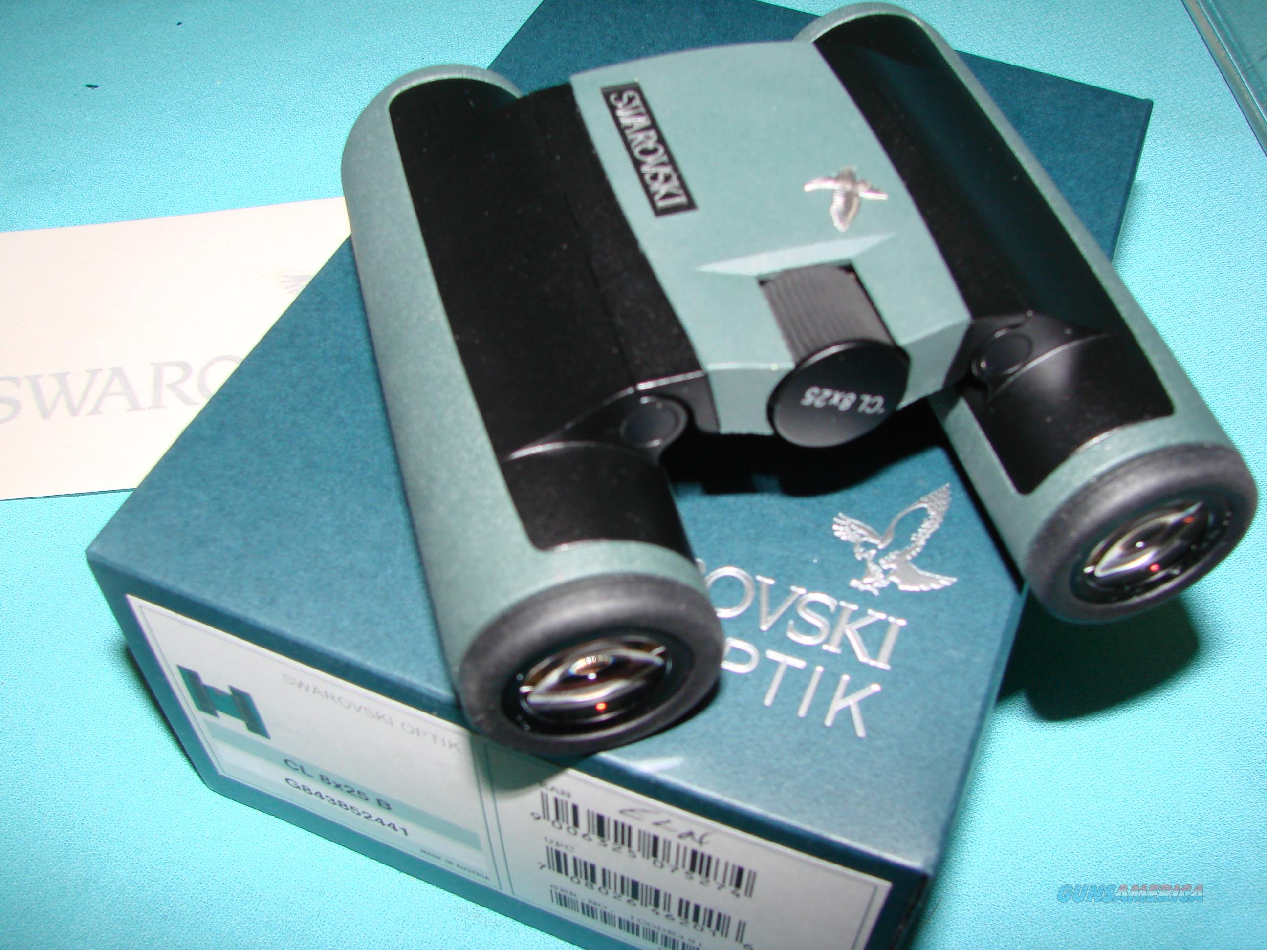 Swarovski Optik Binoculars CL 8x25 B Brand New with box  Non-Guns > Scopes/Mounts/Rings & Optics > Non-Scope Optics > Binoculars