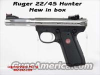 Ruger Mk III Hunter .22LR 22/45  Guns > Pistols > Ruger Semi-Auto Pistols > Mark II Family