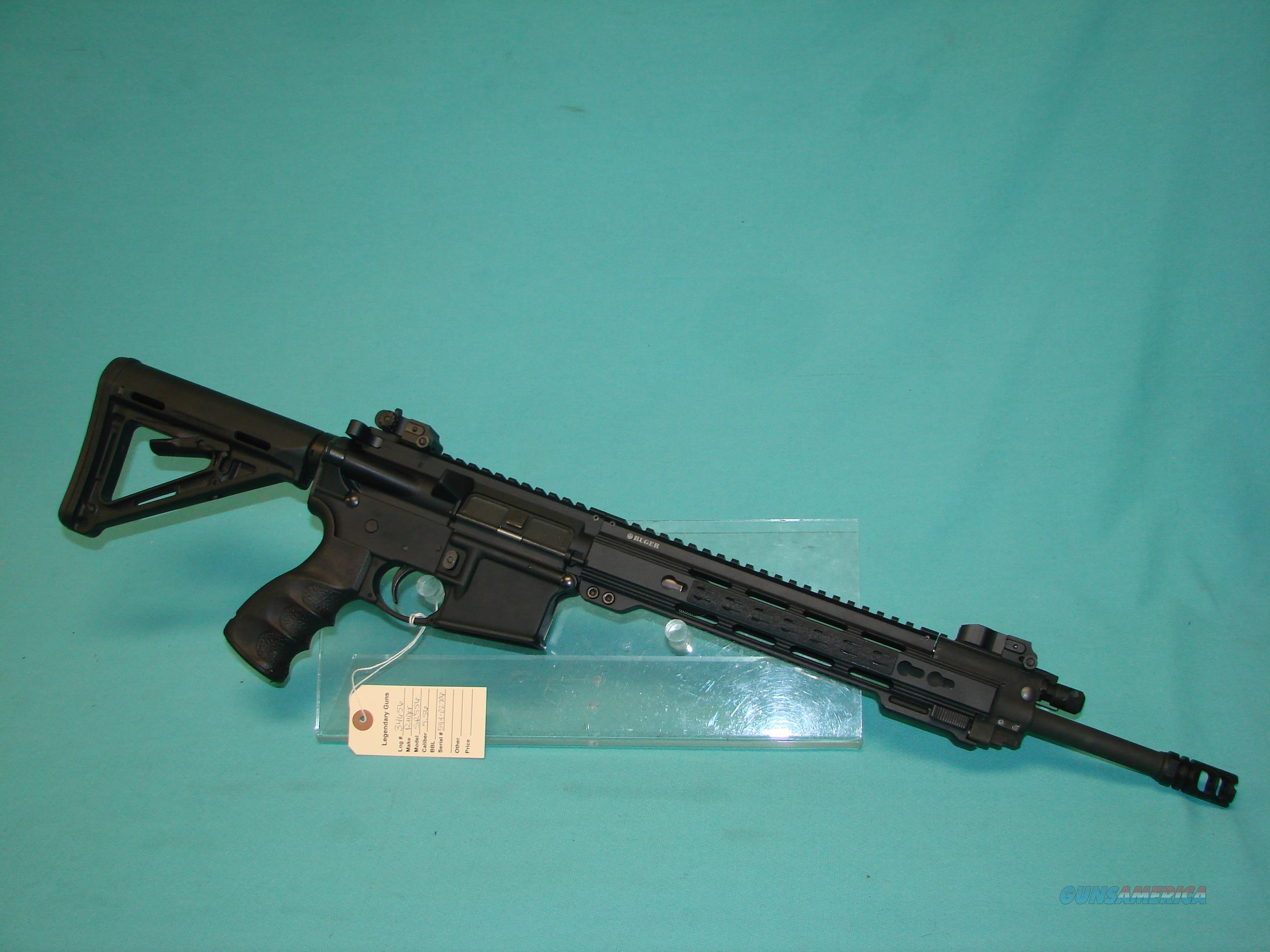 Ruger SR556  Guns > Rifles > Ruger Rifles > AR Series