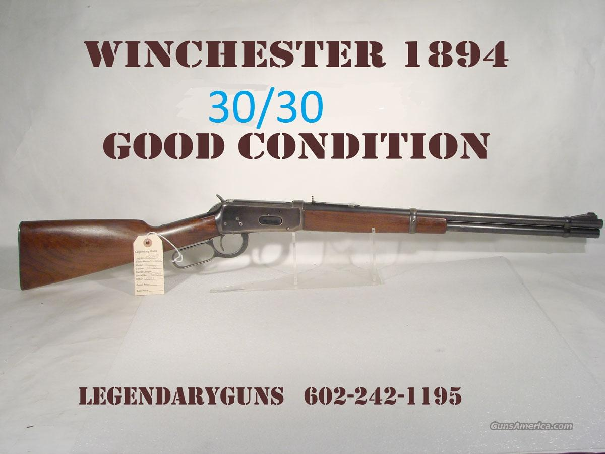 Winchester Model 1894 30/30 Built in 1940  Guns > Rifles > Winchester Rifles - Modern Lever > Model 94 > Pre-64