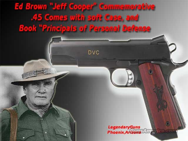 "Ed Brown ""Jeff Cooper Package"" 1911  Guns > Pistols > Ed Brown Pistols"
