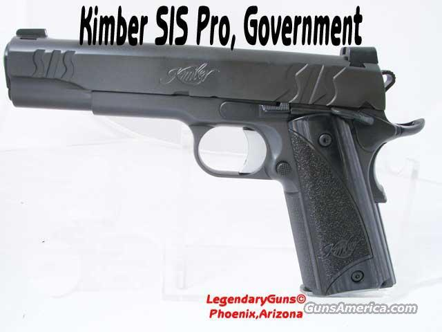 Kimber SIS Custom .45ACP Government size  Guns > Pistols > Kimber of America Pistols
