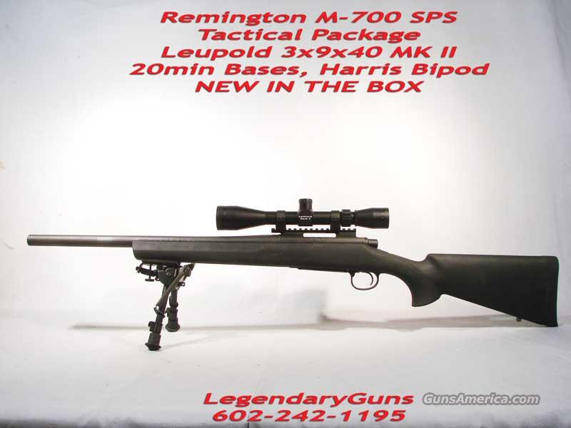 Remington M-700 SPS Tactical Package  Guns > Rifles > Remington Rifles - Modern > Model 700 > Tactical