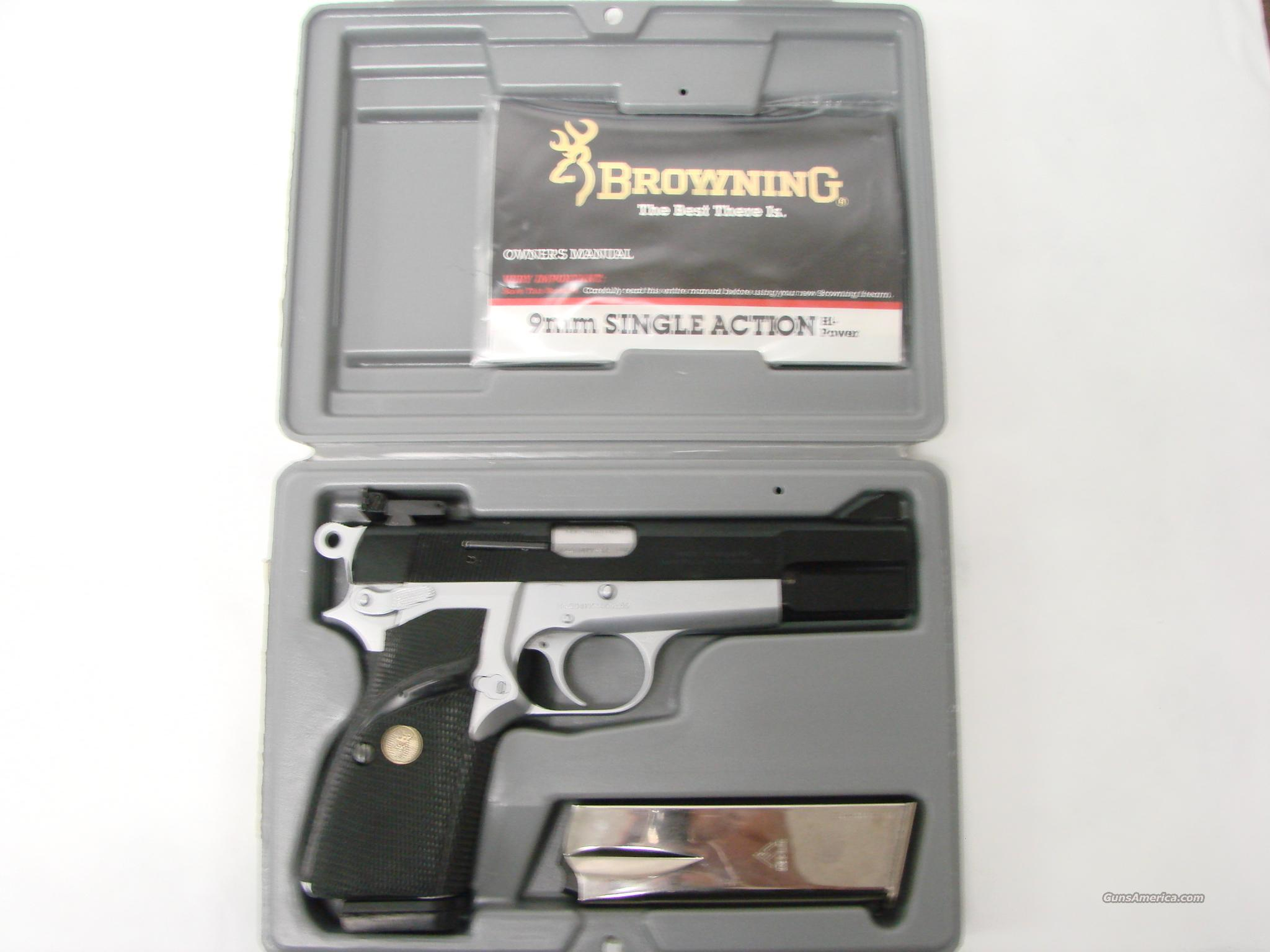 Browning HiPower Two Tone 9mm  Guns > Pistols > Browning Pistols > Hi Power