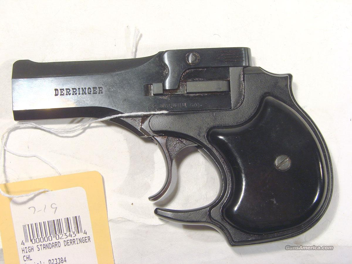 Hi Standard Derringer, .22 mag in the orginal box,   Guns > Pistols > High Standard Pistols