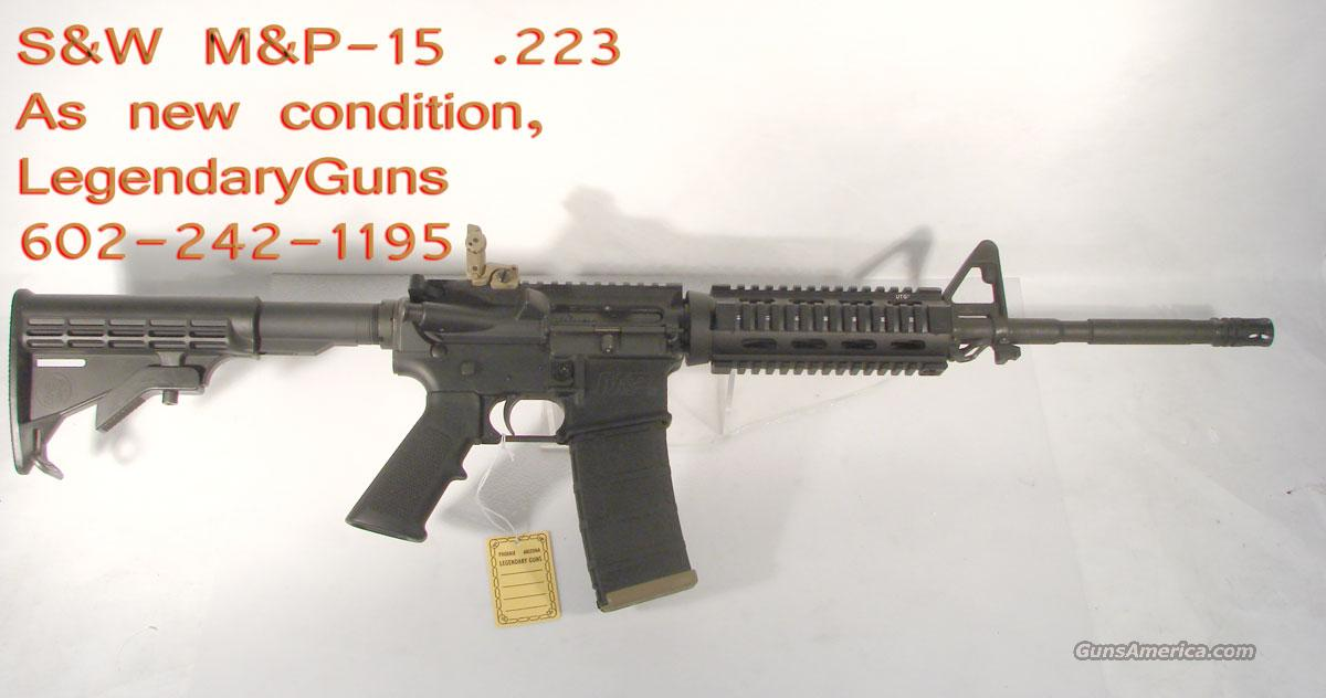 S&W M&P-15 .223, Classic Ar Used as new condiiton  Guns > Rifles > Smith & Wesson Rifles > M&P