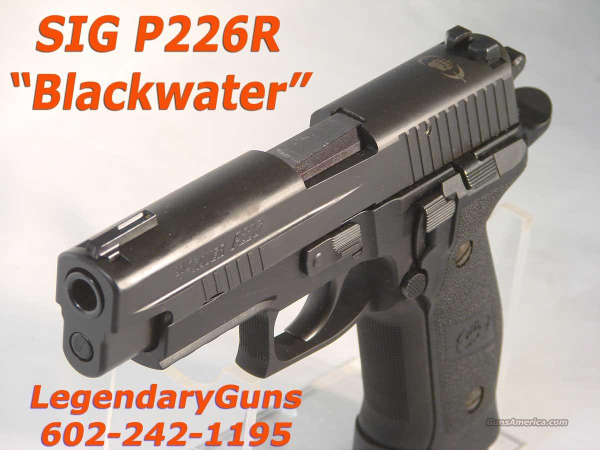 "Sig P226R ""Blackwater"" 9mm  four mags  Guns > Pistols > Sig - Sauer/Sigarms Pistols > P226"