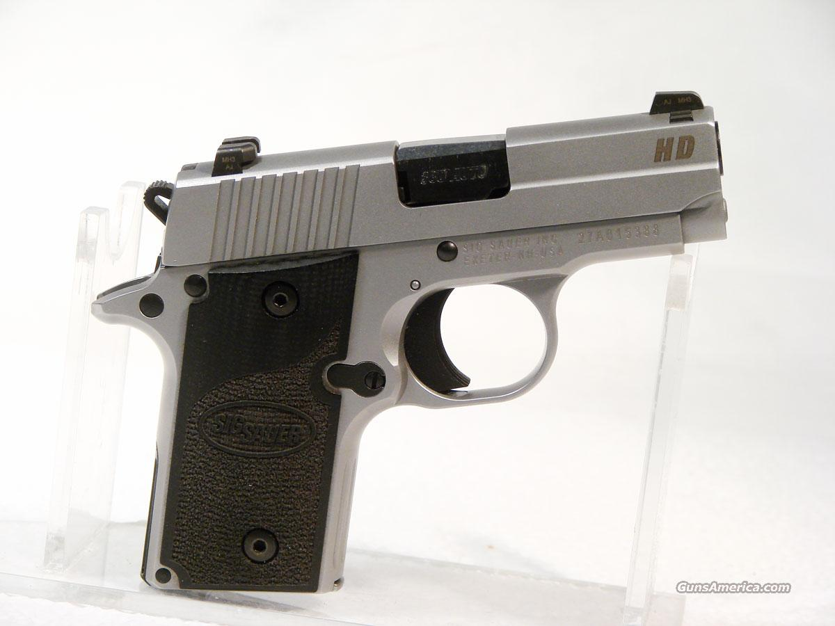 Sig P238  .380 Stainless W/ Night Sights  Guns > Pistols > Sig - Sauer/Sigarms Pistols > Other