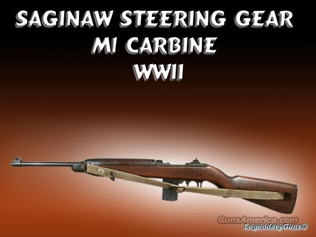 M-1 .30 Carbine Saginaw excellent condition  Guns > Rifles > Military Misc. Rifles US > M1 Carbine