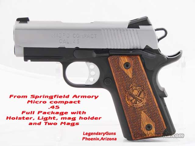 Springfield 1911A1 Micro Compact .45 SS   Guns > Pistols > Springfield Armory Pistols > 1911 Type