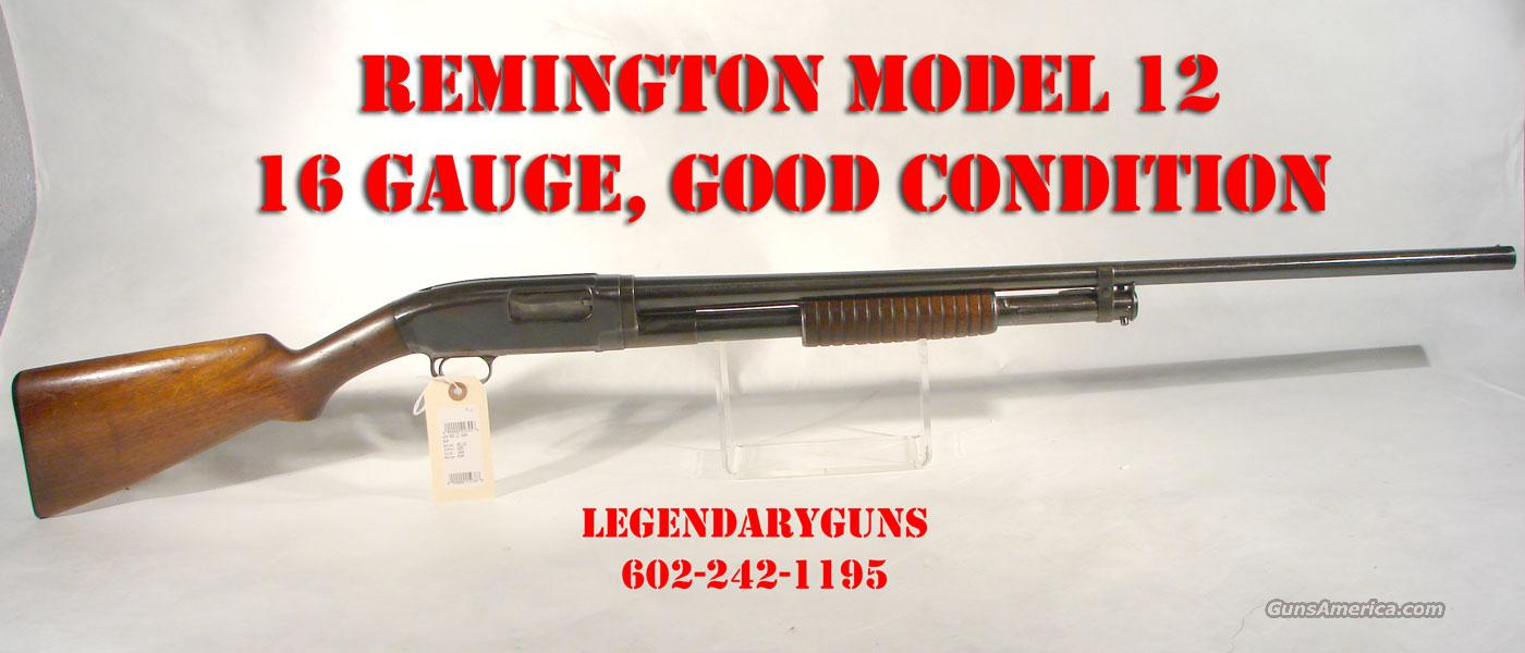Winchester Model 12, 16 gauge Pump,  Guns > Shotguns > Winchester Shotguns - Modern > Pump Action > Hunting