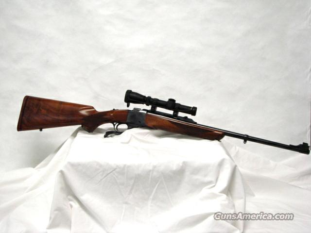 Ruger No 1 7x57 W/ Leupold Scope  Guns > Rifles > Ruger Rifles > #1 Type
