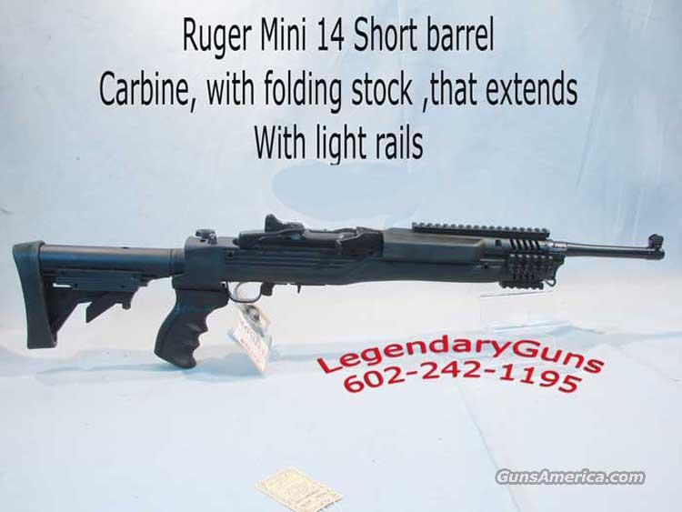 Ruger Mini 14 Tactical Folding stock  Guns > Rifles > Ruger Rifles > Mini-14 Type