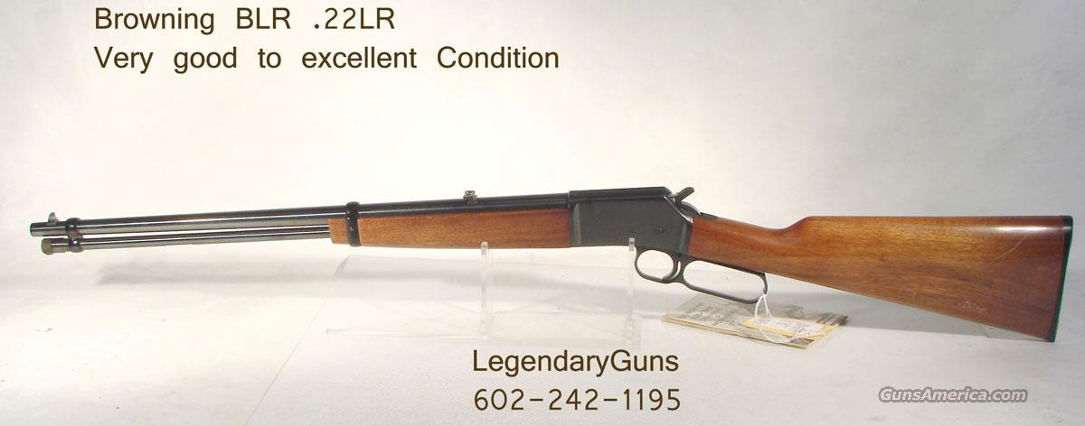 Browning .22LR, Lever action  Guns > Rifles > Browning Rifles > Lever Action