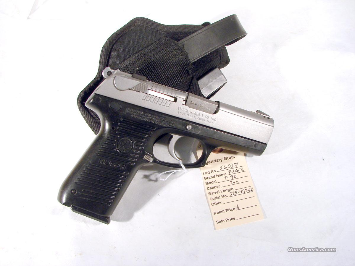 Ruger P-95 9mm Used with holster   Guns > Pistols > Ruger Semi-Auto Pistols > P-Series