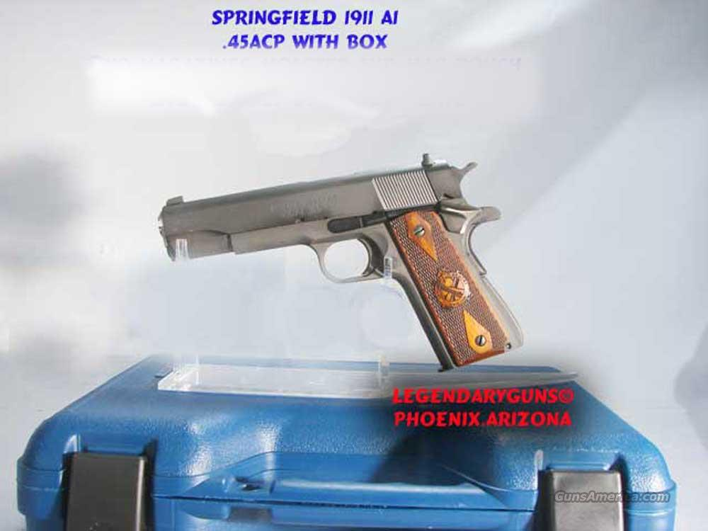Springfield 1911 .45 MilSpec Used As new  Guns > Pistols > Springfield Armory Pistols > 1911 Type