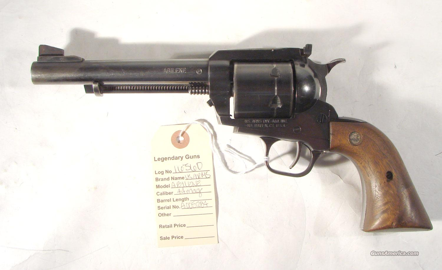 "US Arms  Model "" Abilene"" .44 mag  Guns > Pistols > United States Patent Firearms Revolvers/Pistols"