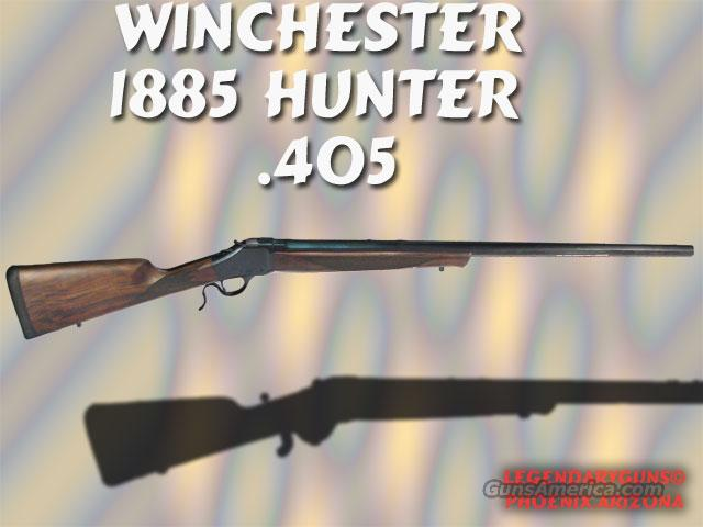 Winchester Model 1885 Hunter .405 Win  Guns > Rifles > Winchester Replica Rifle Misc.