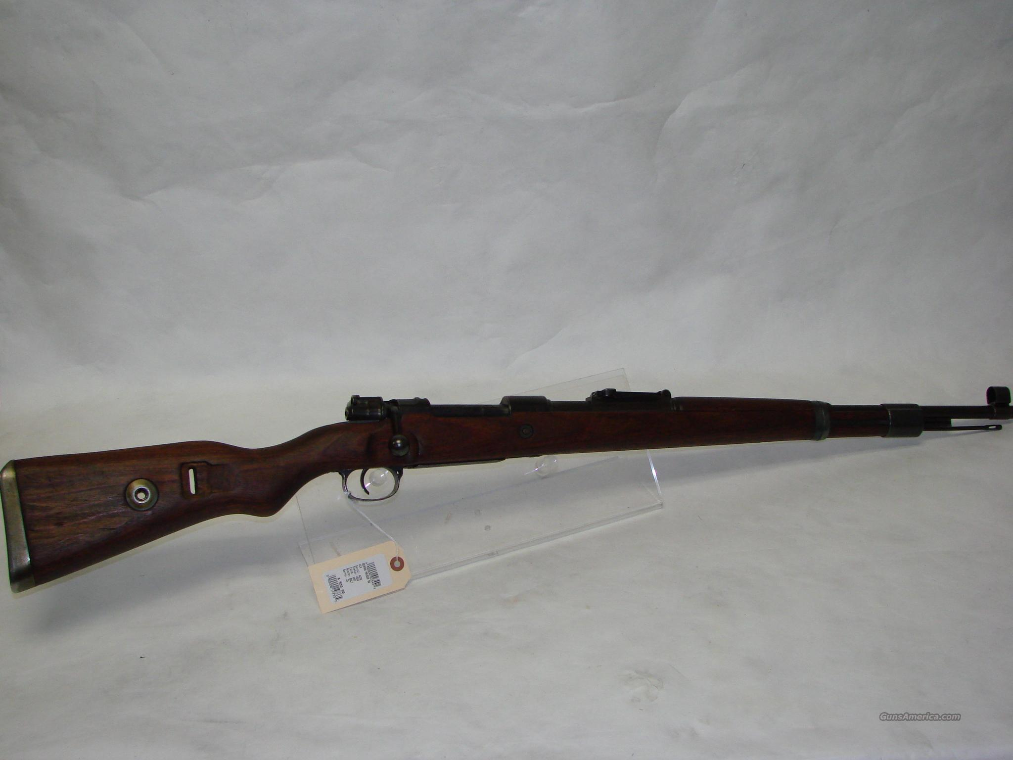 German Mauser 98  Guns > Rifles > Mauser Rifles > German