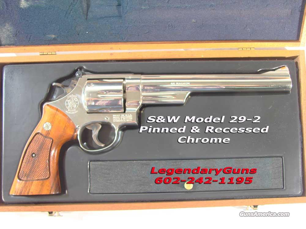 S&W Model 29 Chrome, 8 3/8th inch  Guns > Pistols > Smith & Wesson Revolvers > Model 629