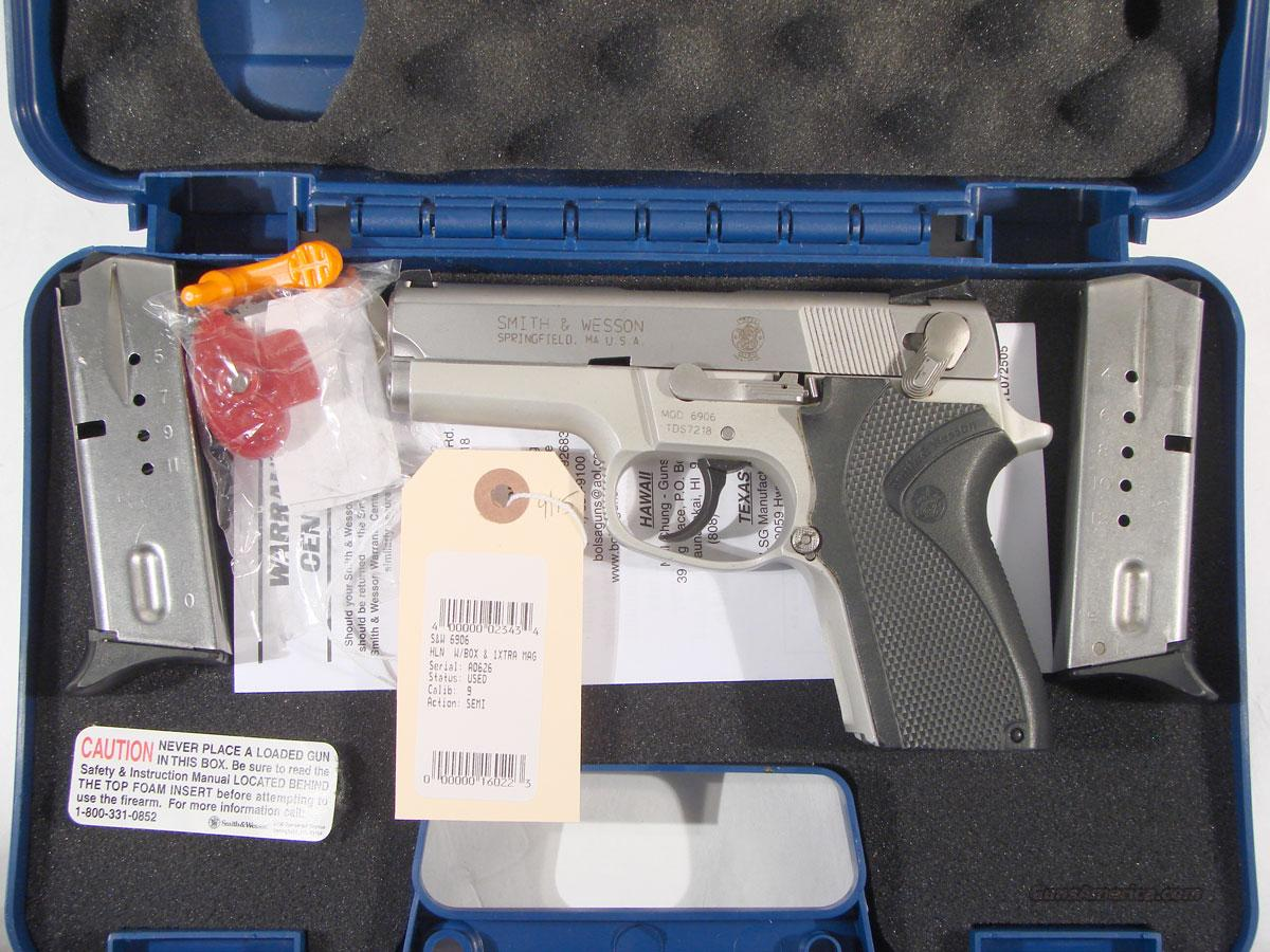 S&W Model 6906 Compact 9mm  Guns > Pistols > Smith & Wesson Pistols - Autos > Alloy Frame