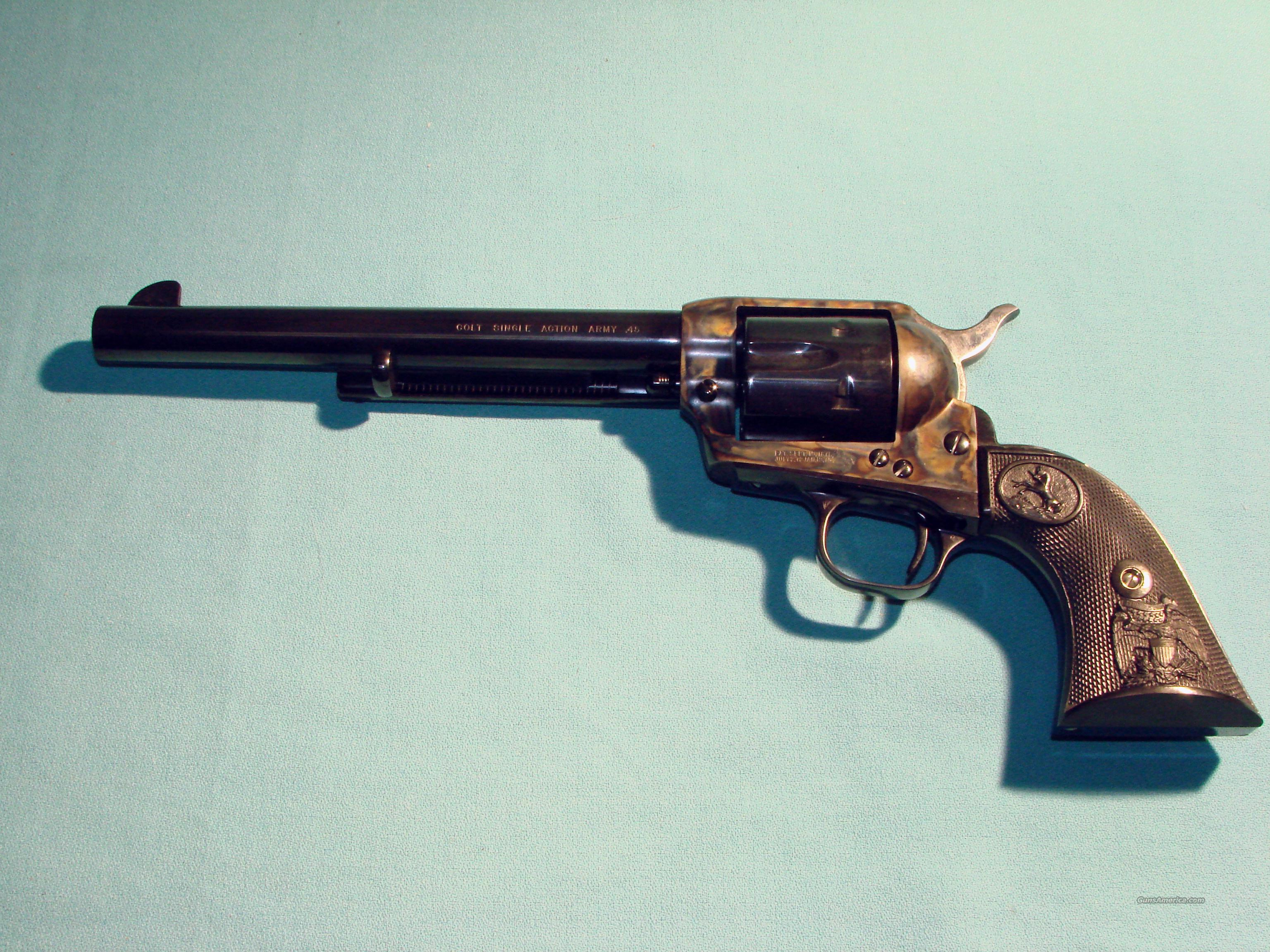 "Colt SAA 45LC 7.5""  Guns > Pistols > Colt Single Action Revolvers - 3rd Gen."
