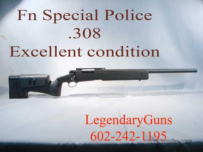 FNH Police rifle With McMillan stock  Guns > Rifles > FNH - Fabrique Nationale (FN) Rifles > Bolt action > Tactical