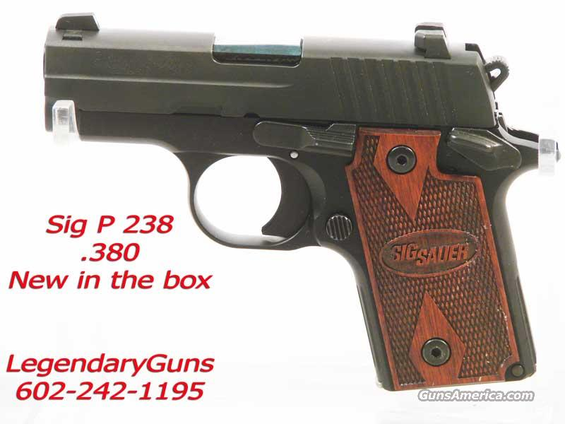 Sig P 238, Compact .380 New in the box  Guns > Pistols > Sig - Sauer/Sigarms Pistols > P238