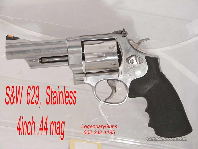 S&W Model 629  Stainless 4 inch .44 mag  Guns > Pistols > Smith & Wesson Revolvers > Model 629