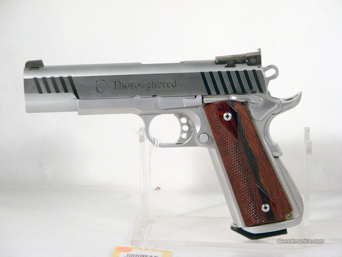 """Thoroughbred"" Classic ,Stainless  Guns > Pistols > 1911 Pistol Copies (non-Colt)"