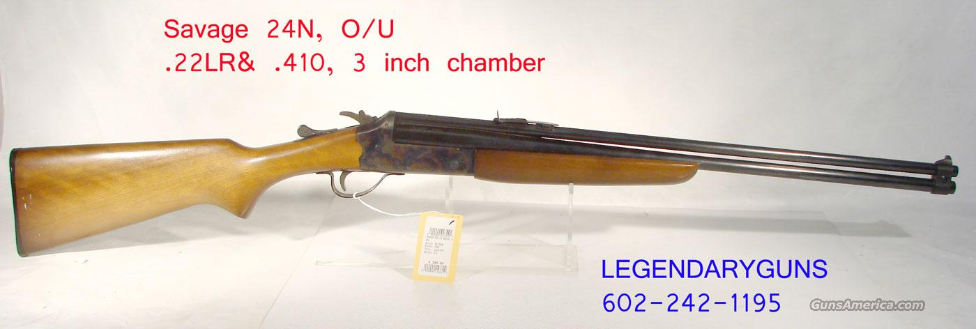 Savage Model 24, Over/Under .22LR&.410  Guns > Rifles > Savage Rifles > Other