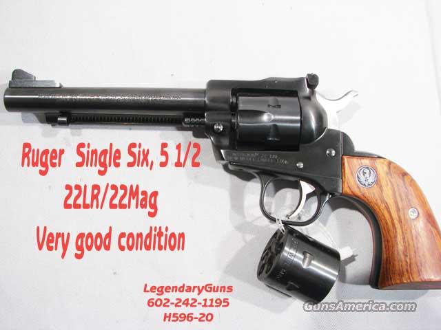 Ruger Single Six 5 1/2 22lr/22Mag  Guns > Pistols > Ruger Single Action Revolvers > Single Six Type