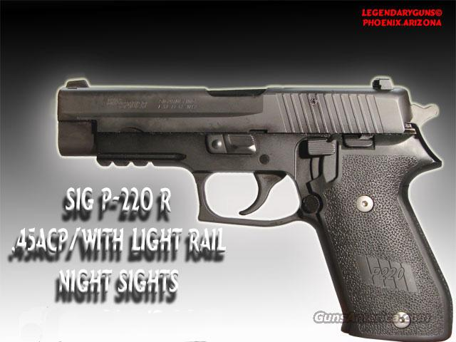 Sig P-220R Used as new in the orginal box  Guns > Pistols > Sig - Sauer/Sigarms Pistols > P220