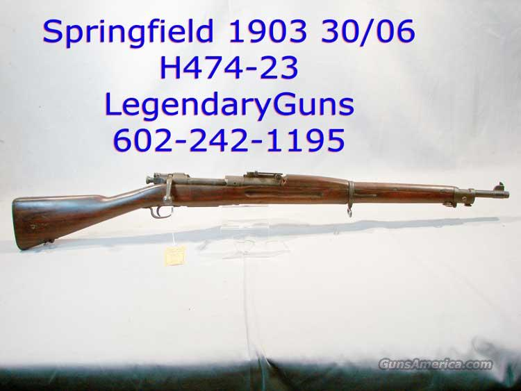 Springfield 1903  30-06   Guns > Rifles > Military Misc. Rifles US > 1903 Springfield/Variants
