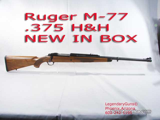 Ruger MK 77 .375 H&H New In Box  Guns > Rifles > Ruger Rifles > Model 77