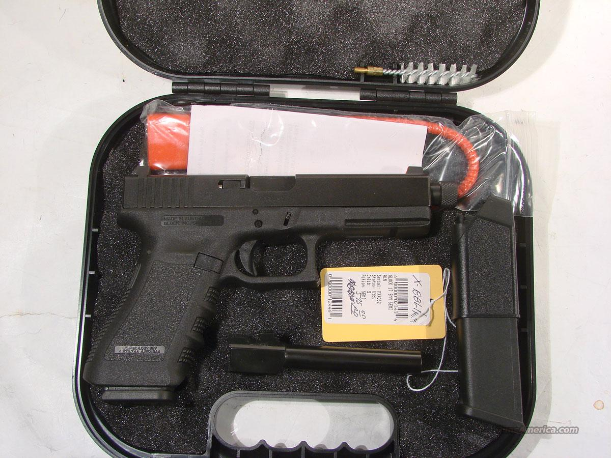 Glock 17 Set up for a Silencer  Guns > Pistols > Glock Pistols > 17