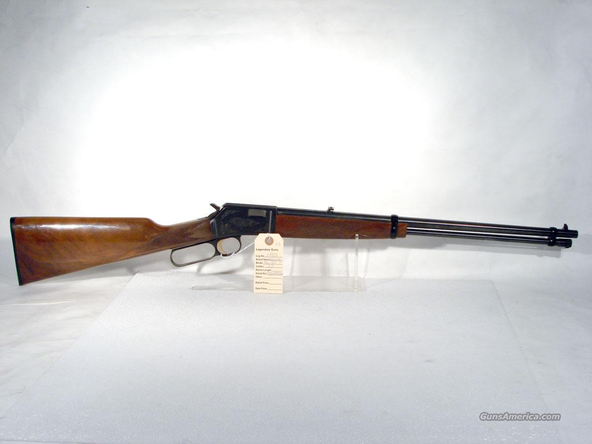 Browning .22LR Lever action Engraved   Guns > Rifles > Browning Rifles > Lever Action